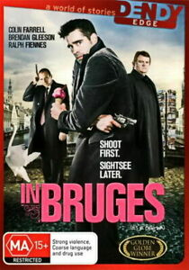 In Bruges DVD - Action / Comedy / Thriller - Colin Farrell, Ralph Fiennes
