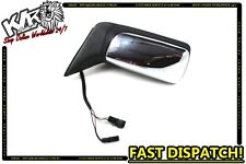 1989 Jaguar Sovereign Sedan - Left Passenger Exterior Chrome Wing Mirror - KLR