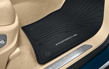 Porsche Rubber Mats Cayenne Black 2019+ E3 Waterproof Set of 4 9Y00448011E0