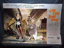 FOTOBUSTA CINEMA - CITTY CITTY BANG BANG - DICK VAN DYKE - 1968 - FANTASTICO -02