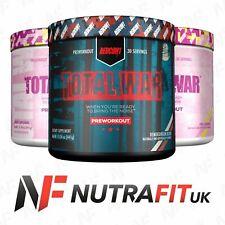 REDCON1 TOTAL WAR pre workout stim pump energy focus caffeine LIMITED EDITION