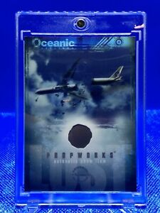 2007 Inkworks Lost Season 3 Piece Of The Crashed Plane & Punched Redemption Card