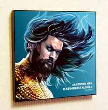 Aquaman DC Comics Justice League Art Poster Painting Print Pop art Frame