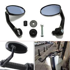 "2PCS 7/8"" Handlebar End Mirrors Universal For Motorcycle Street/Sports bikes ATV"