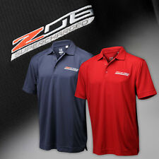 2015-2019 Corvette C7 Mens Cutter & Buck Polo Shirt with Z06 Logo 637628