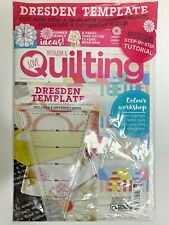 Love Patchwork and Quilting Magazine Issue 89 - Dresden Template Tool 2020