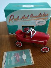Hallmark Kiddie Car Classics Red Hot Roadster 1940 Gendron Diecast In Box