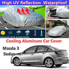 Waterproof Aluminum High UV Protection Mazda 2 Mazda 3 Sedan Hatchback Car Cover