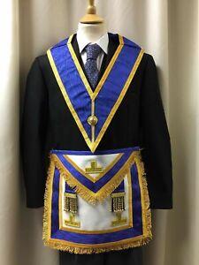 Provincial Craft Aprons Dress Masonic Regalia Apron & Collar Package
