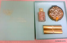 VINTAGE ESTEE LAUDER MAKEUP WARDROBE SET COMPACT LIPSTICKS BASE BOXED