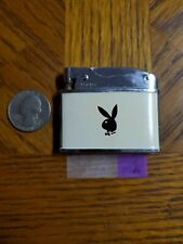 WORKING Vintage Flat  Advertising Pocket Lighter Playboy Club Bunny Cigarette
