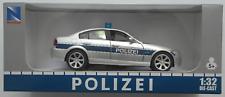 "NewRay - 3er BMW silber/blau ""Polizei"" 1:32 / Spur 1 Neu/OVP Modellauto"