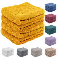 Geo Egyptian Cotton 600GSM Towels Bath Sheet Super Soft Extra Thick Absorbent GC