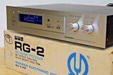 Pioneer RG-2 processore dinamico HI-FI STEREO separato in scatola + ottime condizioni