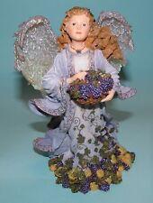 """Boyds Bears Charming Angel """"Della Robia Guardian of Abundance"""" #28230 Nib 2003"""