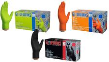 Gloveworks HD Industrial Nitrile Gloves Heavy Duties - Ammex Brand