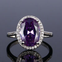 925 Silver Rose Gold Amethyst&Ruby&Emerald&Aquamarine Multi Color Ring Wholesale