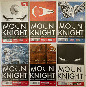 Moon Knight (2014) Lot 1-17 Warren Ellis Complete Series Run Disney+ Marvel NM