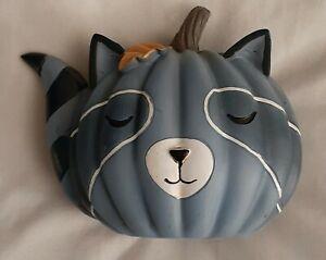 Halloween Decor Wooden Raccoon 5 in x 4 in | Free Shipping