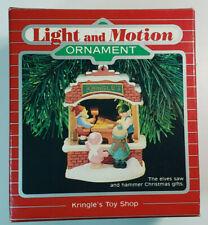 1987 Hallmark Kringle's Toy Shop Keepsake Magic Light and Motion Ornament