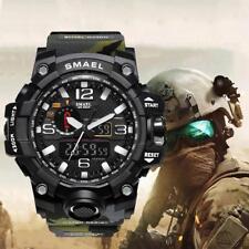 2018 Herren Multifunktions Wasserdicht Datum Militär Quarz Digital Armbanduhren
