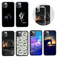HORSE | Protective Case/Cover for iPhone 5 SE 6 6s 7 8 PLUS X XS 11 PRO MAX XR
