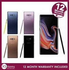 Samsung Galaxy Note 9 SM-N960F 128/512GB Mobile Smartphone Blue Unlocked/EE