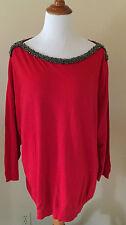 Jones New York Crewneck Solid Plus Size Sweaters for Women