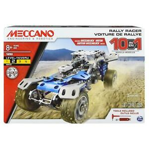 Meccano 6040178 - 10 in 1 Truck Rally Racer Self Contained Motor Age 8+
