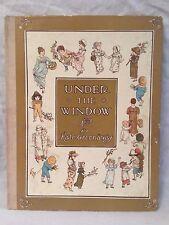 Kate Greenaway - Under The Window - Frederick Warne 1920s - Very Nice Copy