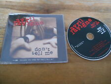 CD Pop Avril Lavigne - Dont Tell Me (3 Song) MCD BMG ARISTA sc