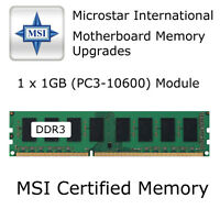 1GB MSI MS-7592 VER: 5.2 Motherboard DDR3 Memory Upgrade PC3-10600 1333MHz RAM