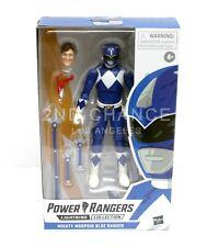 New Power Rangers Lightning Collection Blue Ranger Billy 6'' Action Figure