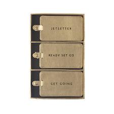 Eccolo - Luggage Tag - Jetsetter - Gift Set