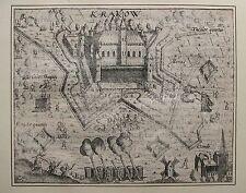 KREFELD. Originaler Kupferstich aus BAUDARTIUS, ca. 1625