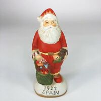 "Vintage Spain Santa Ceramic Figurine 5"" tall"