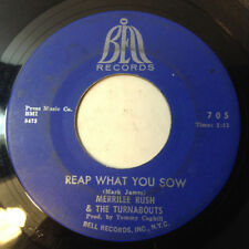 MERRILEE RUSH & TURNABOUTS Angel Of The Morning/Reap What You Sow 1968 BELL Soul