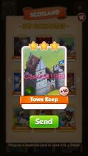 X1 Town Keep Coin Master trading card !!!Super Fast Dispatch!!!