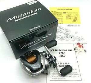 Shimano 13 Metanium Left Bait Casting Reel In Box <Excellent+++> From JAPAN【DHL】