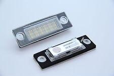 LED plaque d'immatriculation éclairage plaque éclairage vw golf 5 plus (Bj. 2005-2009)