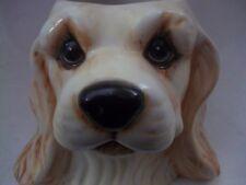 big sky canine cocker spaniel 3D sculptured ceramic puppy java coffee tea  mug