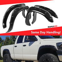 2002-2008 Ram 1500 Fender Flares Pocket Style Riveted Smooth Paintable FLARE