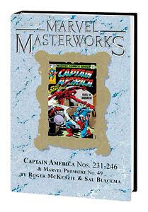 MARVEL MASTERWORKS #309 CAPTAIN AMERICA Volume #13 DM Hard Cover $75 Global Ship
