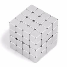 N45 5x5x5mm Cube Block Strong Neodymium Rare Earth Magnets Block Magnetic☃