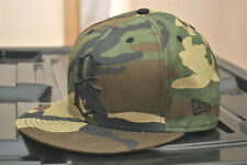 REBEL EIGHT X NEW ERA - LOGO FITTED CAP - CAMO 59FIFTY - 100% AUTHENTIC