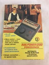 Vintage Rail Power 1200 Powerpack By MRC W/Original Box & Instructions