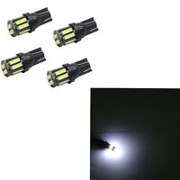 Useful 4X White T10 7020 SMD 10 LED W5W Wedge Tail Side Car Lights Turn