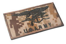 U.S. ARMY LOGO Patches ARMY MORALE TACTICAL  BADGE HOOK & LOOP PATCH  Sh  750