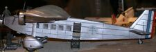 Bloch 120 France Transport Airplane Mahogany Kiln Wood Model Large