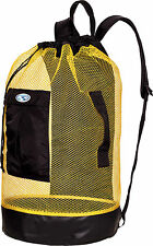 Stahlsac Panama Scuba Diving Travel Mesh Backpack Gear Bag Yellow NEW